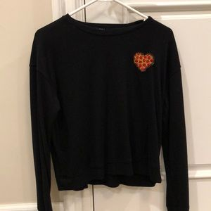 pizza patch long sleeve